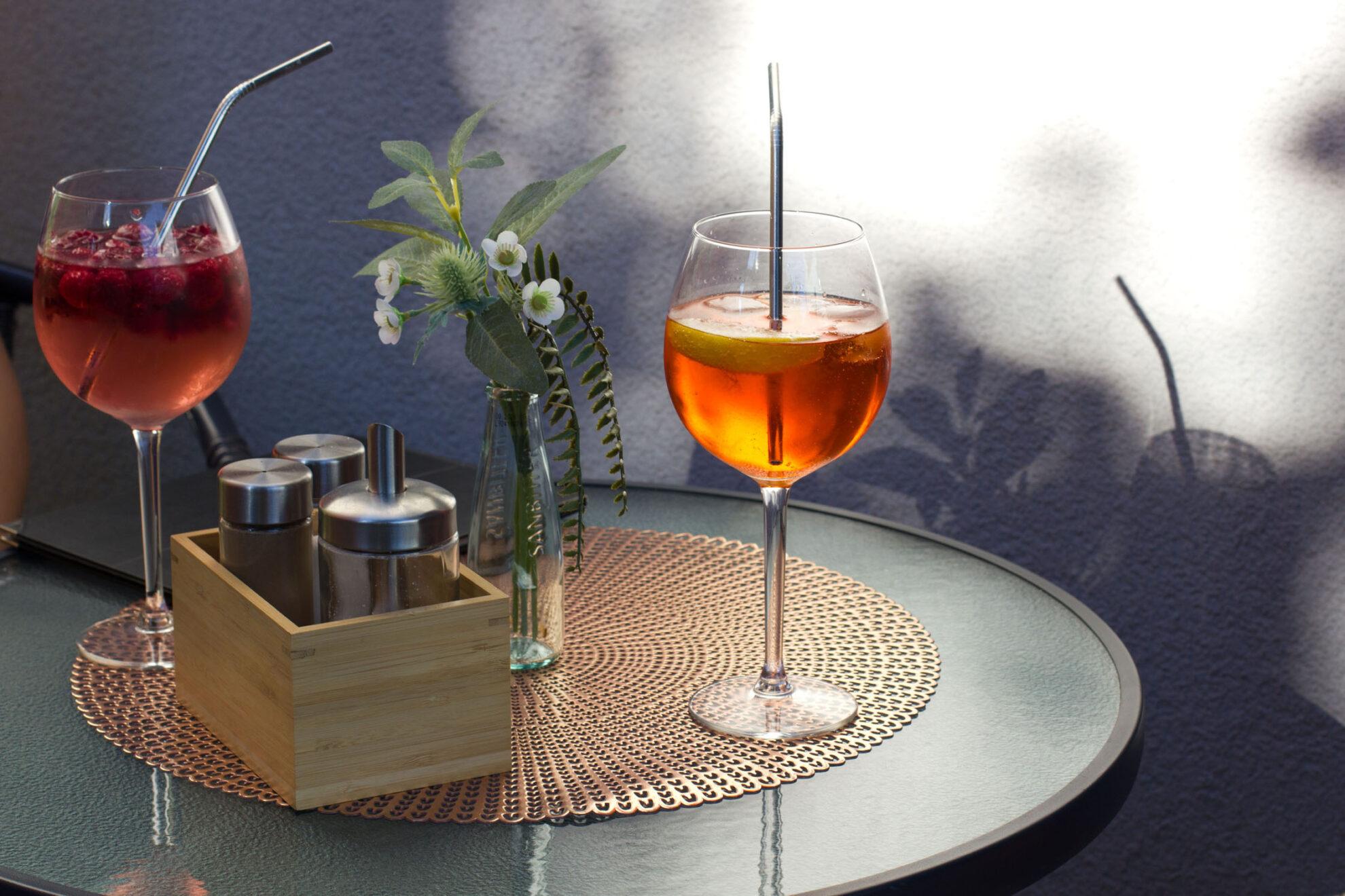 Lillet Wild Berry und Aperol Spritz